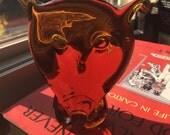 Blenko Art Glass 1958 OWL Paperweight