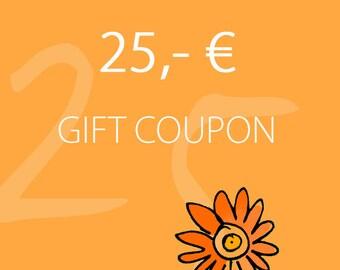 Melanie Moertel Lampwork Beads // Personalized Gift Coupon // Lampwork Beads // 25,- EURO