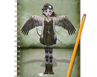 Cupid Notebook - Cupid Journal - LINED OR BLANK pages, You Choose