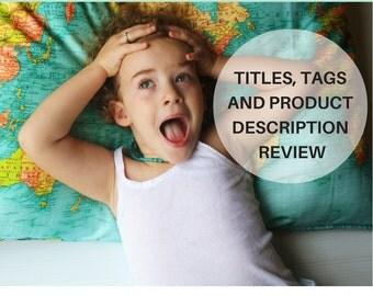 Etsy SEO/ Custom Etsy SEO/ Etsy success/ Product Description Review/ Custom Etsy Item Description Review / Etsy Critiques/ Etsy shop SEO