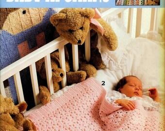BEARY SWEET Baby Afghans 6 Crochet Designs Leisure Arts 2774