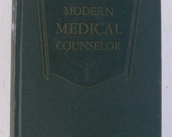 vintage book, the New Modern Medical Counselor, 1951, color plates, from Diz Has Neat Stuff