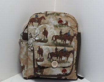 Riding The Range Preschool Backpack