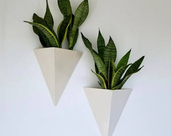Ceramic Wall Planter Box
