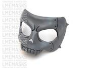 Ryuji Sakamoto Leather Mask Persona 5 Cosplay Grey Skull MegaTen Video Game Role-Playing Megami Tensei Shin MegaTen Megami Halloween Costume