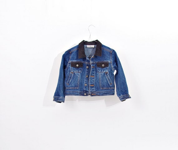 SALE! Power Kids denim trucker jacket / size 116 - 4/5 yo