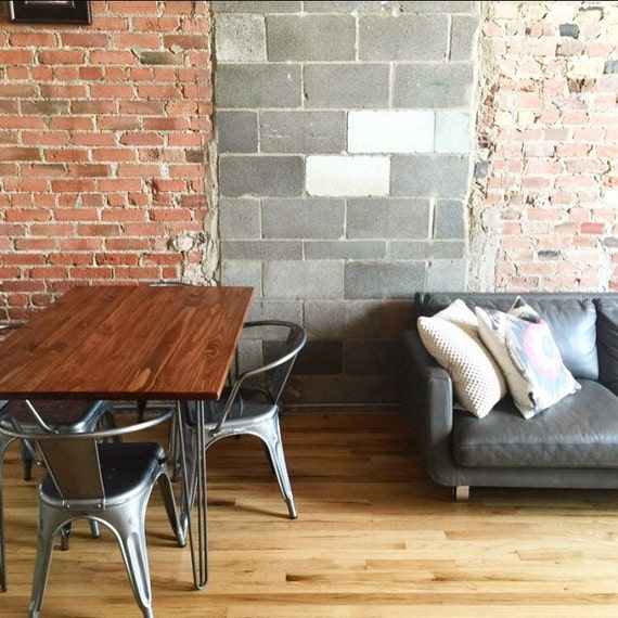 Industrial Chic Kitchen: 32x48 Industrial Chic Kitchen Table With