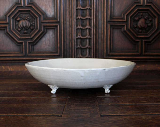 Large Footed Serving Bowl
