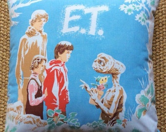 Vintage E.T. Fabric Cushion With Interior 40cmx40cm