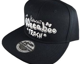 Kawaii Weeaboo Trash Anime Otaku Snapback Trucker Cap Hat