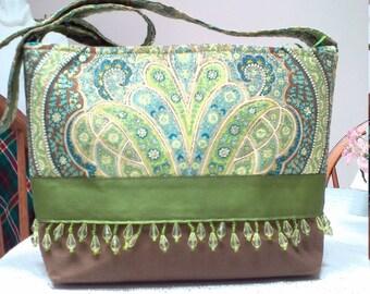 LissaCole Paisley Handbag