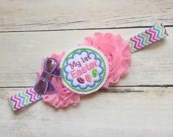 1st Easter Baby Headband, Headband for Easter, Easter Baby Headband, First Easter Headband, Baby Headbands, Headbands for Baby Girl