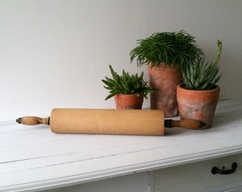 Vintage Large wooden rolling pin