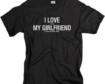 Boyfriend Gift - Cute Valentines Day Gift - I Love It When My Girlfriend Lets Me Play Video ...
