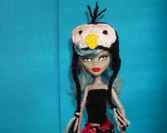 Monster High Doll Penguin Hat Doll Hat