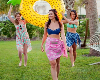 Monogrammed Swimsuit Coverups, Monogrammed Sarong, Swimsuit Coverup, Beach Coverup, Bridesmaid Gifts, Bachelorette Party Gifts