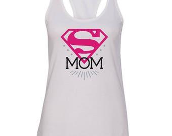 Super Mom, Super Mom Tank Top, Super Mom Shirt, Super Mom, SuperMom Shirt, Mom Gift, Wife Gift, Gift for Mom