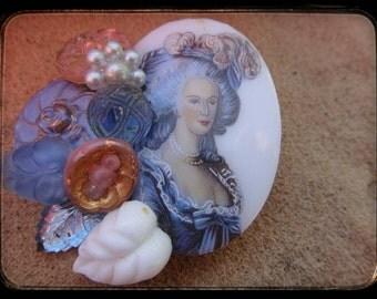Vintage Brooch Pin Pendant jewelry vintage cameo vintage lady brooch pendant pin vintage jewelry