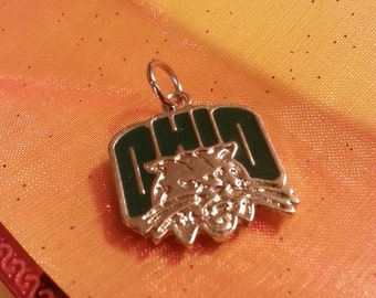 Ohio University Bobcat Pendant
