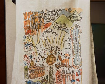 Knoxville, Tennessee Dishtowel