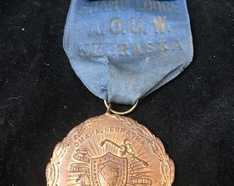 Antique  delegate badge ribbon