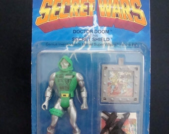 Dr. Doom Secret Wars Action Figure 1984