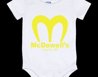 Coming To America McDowell's - Baby Onesie 12 Month