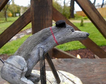 DriftWOOF! The driftwood dog