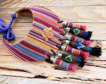 Boho necklace, tassel necklace, bohemian jewelry, bib necklaces