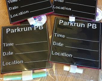 ParkRun PB Board 5K Running Gift Sign