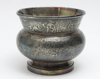 Egyptian Bowl *Camels *Sphinx