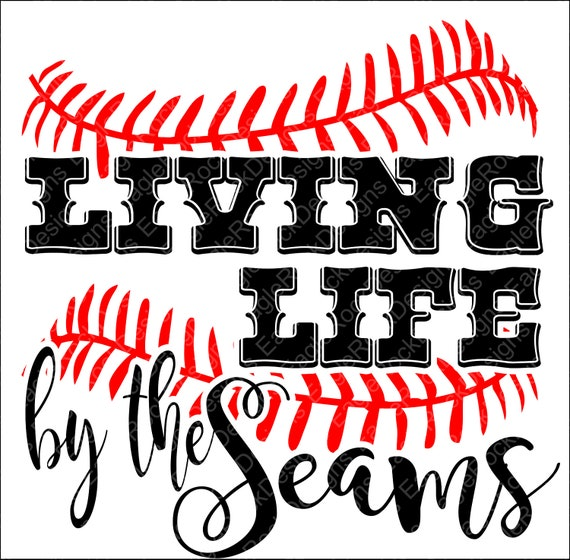 Living Life By The Seams Svg Dxf Eps Png Cut File For Cameo