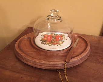 Vintage Goodwood Cheese Tray/Vintage Cheese Tray/Vintage Snack Tray