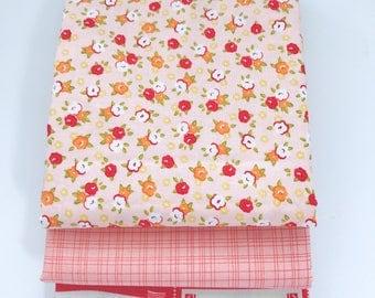 SALE!! 1/2 Yard Bundle Farm Girl by October Afternoon for Riley Blake Designs- 3  Fabrics