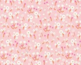 SALE! 1 Yard  Stay Gold by Aneela Hoey for Cloud 9 Fabrics- 160505 Marigold Blossom