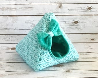 Hedgehog Bed | Guinea Pig Bed | Small Animal Bed | Hedgehog House | Guinea Pig House  | Rat Bed | Tent | Teepee Custom Pick from 200 Fabrics
