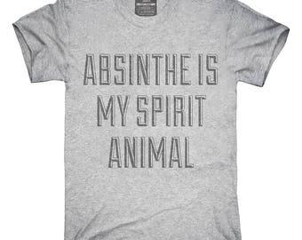 Absinthe Is My Spirit Animal Drug T-Shirt, Hoodie, Tank Top, Gifts