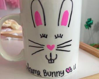 Easter bunny coffee mug 11oz
