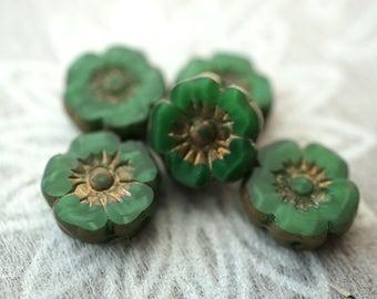 Savannah Flowers, Flower Beads, Czech Beads, Beads, N2134