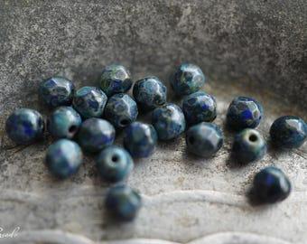 Montana Blue, Czech Beads, Beads, N2255