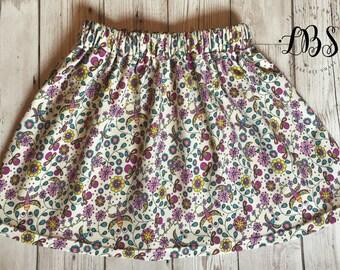 Organic Cotton Jersey Circle Skirt