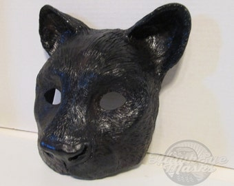 Black Panther mask, costume mask, masked ball, wild animal mask, black cat mask, masquerade mask, spirit mask, big cat, zootopia cosplay