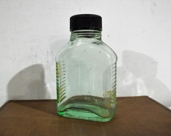 Beautiful Art Deco Apothecary / Medicine Bottle - FREE SHIPPING!!!