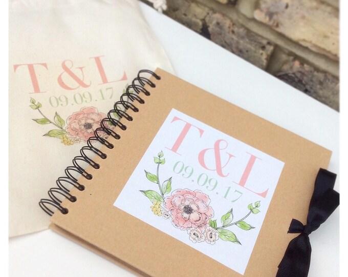 Personalised Scrapbook | Hen Do | Weddings | Wedding books | Birthday scrapbook | Memories | Guest book | Journal for Bride's