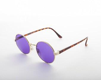 John Lennon Round Color Lens Vintage Sunglass  1990s -Dylan