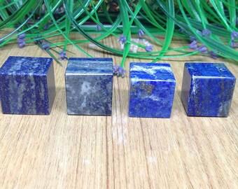 Lapis Lazuli Cube ~ Platonic Solids, Sacred Geometry