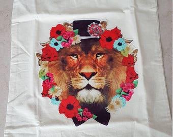 Lion Tote shopping bag