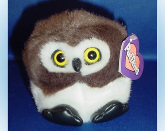 Puffkins Olley Plush Owl 1997 with Tags