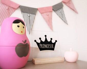 Frame plexi Princess