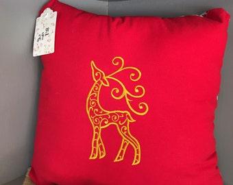 Filagree Reindeer pillow - Reg 29.99